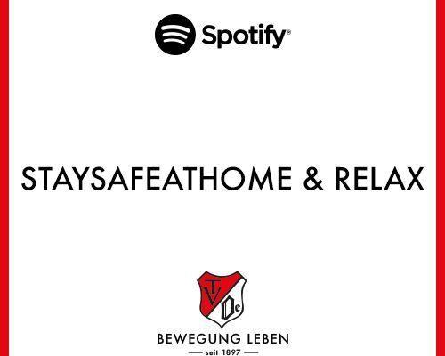 TV Oeffingen - StaySafeAtHome & Relax SPOTIFY Playlist
