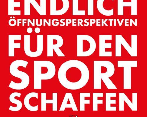 Öffnungsperspektiven für den Sport