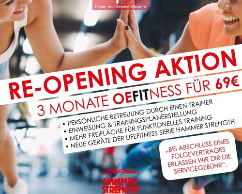 OeFit Re-Opening Aktion