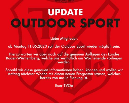 Update Outdoor Sport