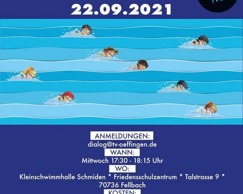 Schwimmkurs ab 22.09.2021 (Bitte nicht mehr anmelden)
