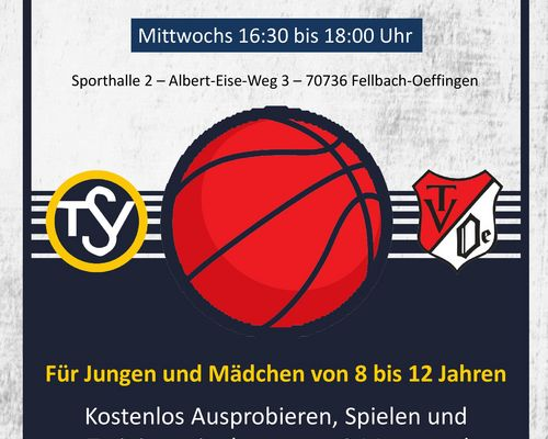 Ab 08. Mai Basketball spielen mit dem TV Oeffingen