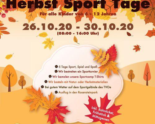 Herbstsportwoche