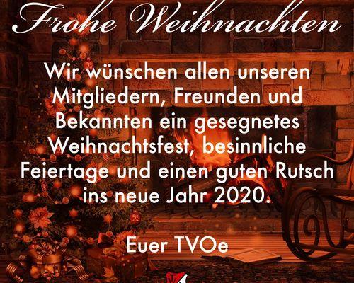 Frohe Weihnachten und eine guten Rutsch!